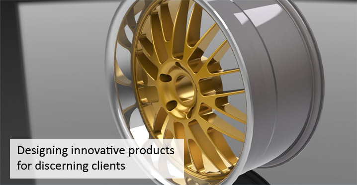 Designing innovative products for discerning clients